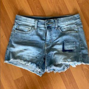 Jean shorts. Never worn